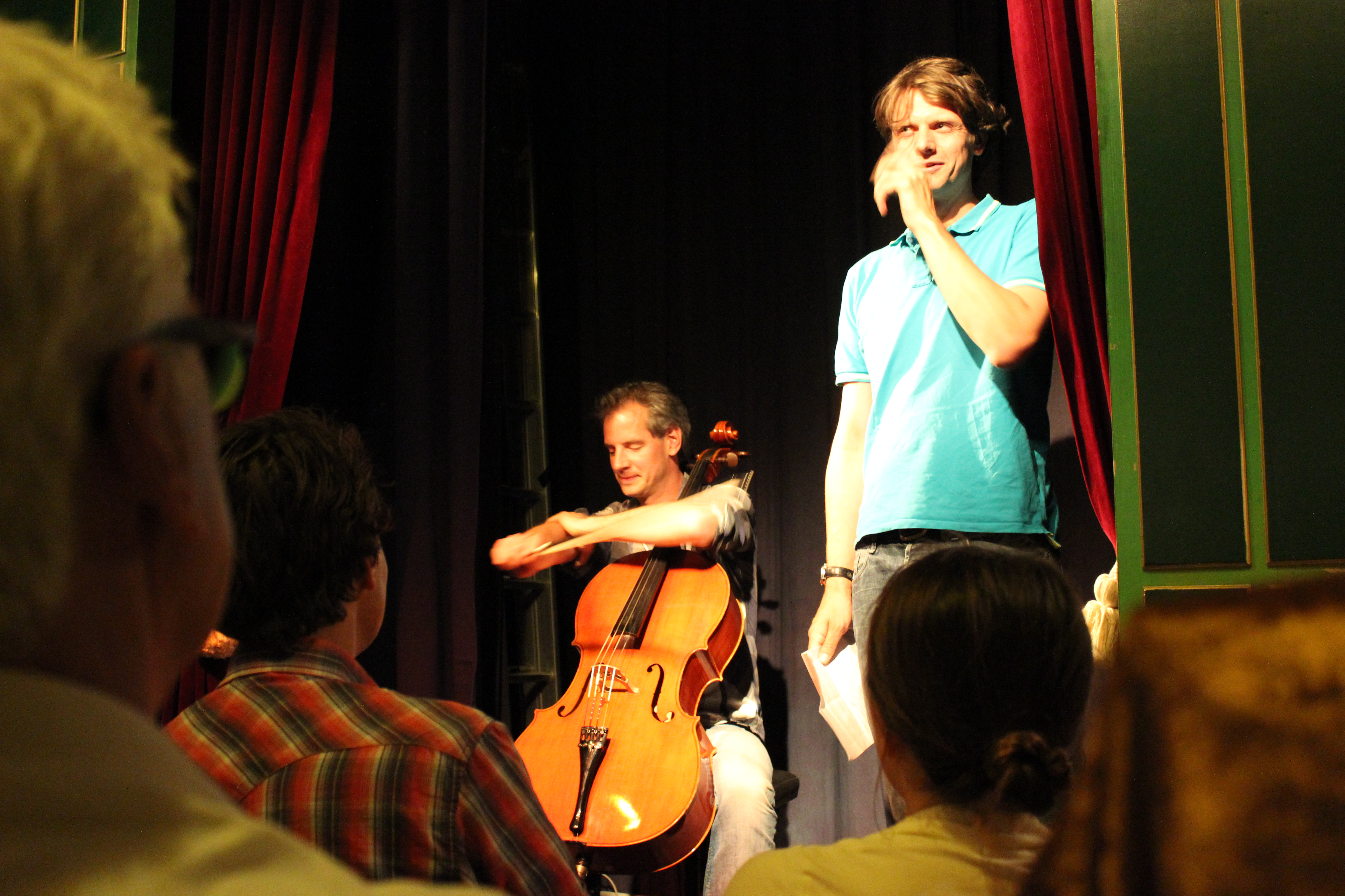 Column & Cello